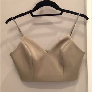 Olive keepsake bra top